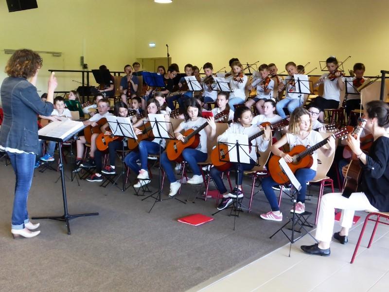 150 jeunes musiciens aux Orchestrales