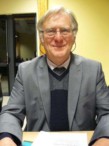 Joseph Letorey 10ème vice-président de la communauté de communes en charge de l'école de musique, l'espace public numérique, l'école de voile, la carte sport et culture. Maire de Varaville