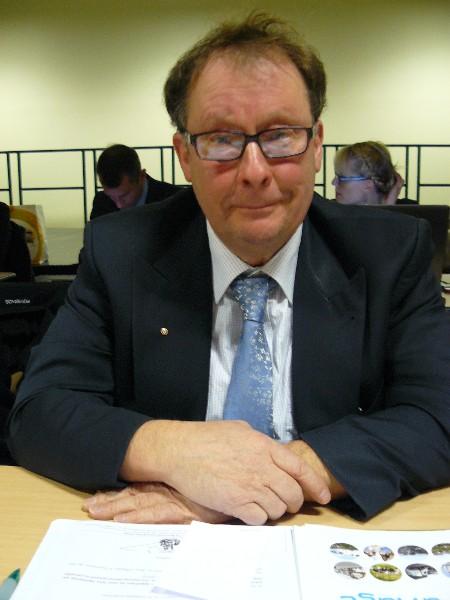 Lionel Maillard 9ème vice-président de la communauté de communes en charge des circulations douces, de l'entretien des bâtiments, des acquisitions foncières. Maire de Petiville