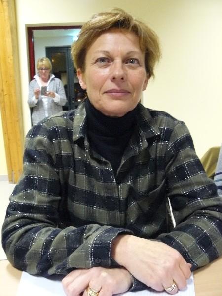 Nadia Blin Membre du Bureau de la communauté de communes. Maire de Goustranville