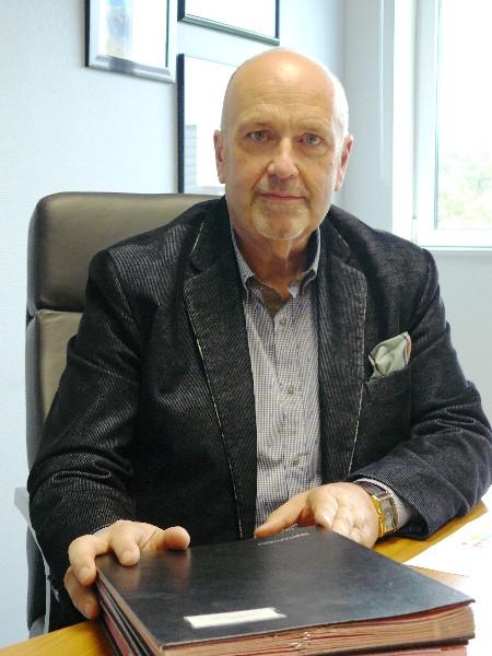 Olivier Paz Président de la communauté de communes Maire de Merville-Franceville