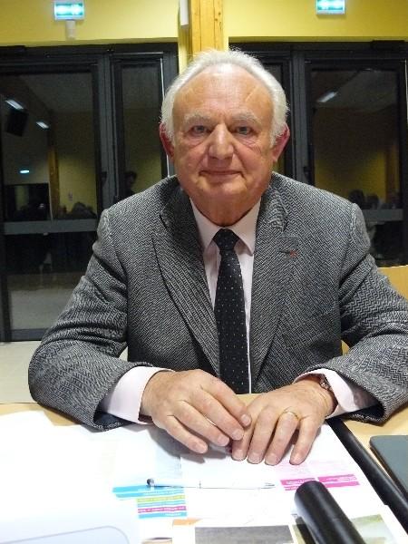 Patrice Germain 6ème vice-président de la communauté de communes en charge de la gestion des milieux aquatiques et de la prévention des inondations, du développement durable, de la transition énergétique. Maire de Basseneville