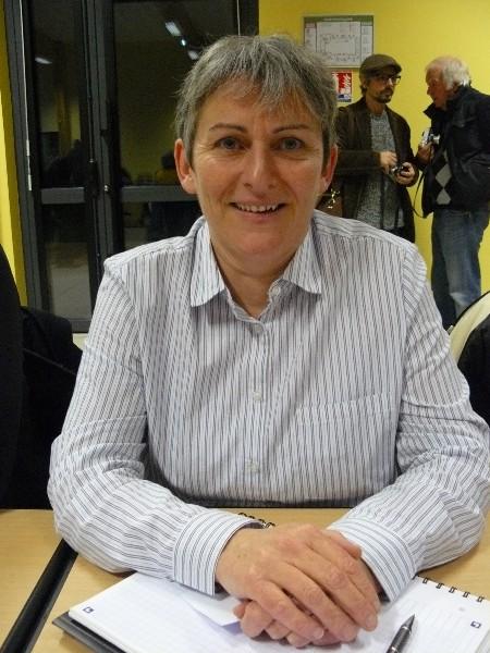 Sandrine Fosse 5ème vice-présidente de la communauté de communes en charge de l'assainissement et de la préparation de la compétence eau potable. Maire de Bréville-les-Monts
