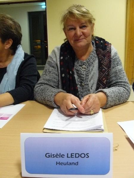 Gisèle Ledos Conseillère communautaire Maire de Heuland