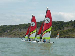 Apprendre à naviguer avec l'école de voile à Dives-sur-Mer