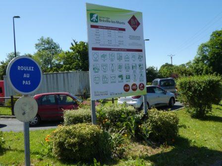 Réouverture de la déchetterie de Bréville-les-Monts