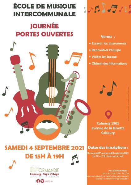 Journée Portes Ouvertes à l'école de musique intercommunale